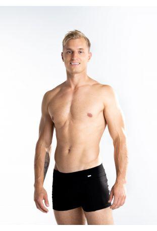 FAIRPANTS men's Boxer Pants Very Blac Fairtrade