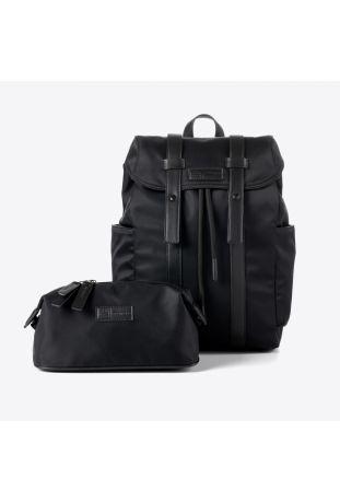MIOMOJO Orlando+Milo Globetrotter series Nero Backpack and Washbag