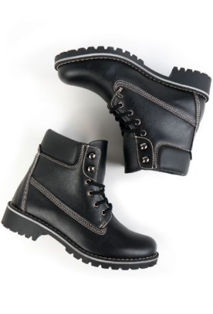 MEN'S DOCK BOOTS BLACK