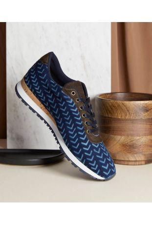 Umòja Lepi-Indigo wegańskie buty sneakersy