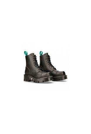 New Rock Ancle Boot Metallic M-MILI083C-V4 wegańskie buty rockowe