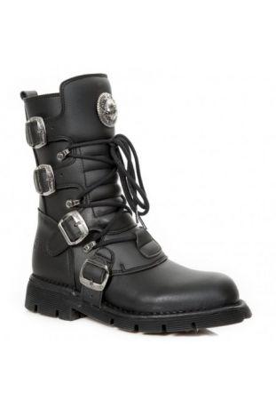 New Rock Boot M-1473-V1 vegan rock boots