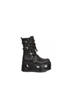 New Rock Boot Metallic M-373-VC2 wegańskie buty rockowe