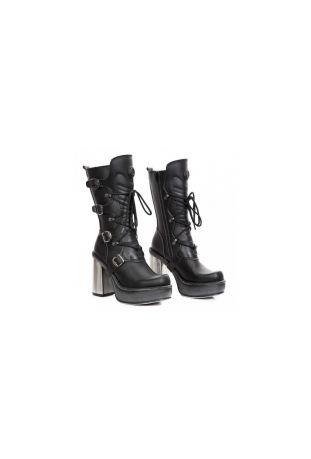New Rock Boot Platforma M-9973-VS1 wegańskie buty damskie