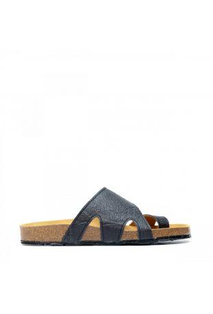 Nae Daros PINATEX™ black wegańskie sandały