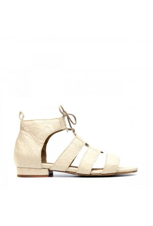 Nae Hera Multi-Strap Sandal White wegańskie sandały damskie