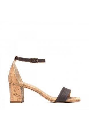 Nae Margot - Cork Natural wegańskie sandały damskie