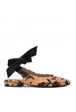 Nae Beth - Pointed Toe Cork wegańskie buty damskie
