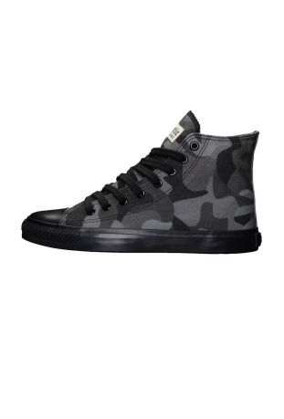 Ethletic Fair Trainer Black Cap Hi Cut Human Rights Black/Jet Black wegańskie snekaersy