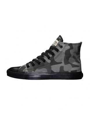 Ethletic Fair Trainer Black Cap Hi Cut Human Rights Olive/Jet Black wegańskie snekaersy