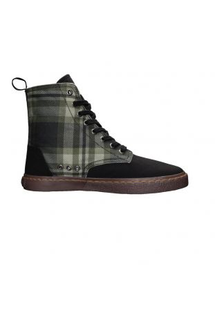 Ethletic Fair Sneaker Brock Tartan Mystic Green Wegańskie Sneakersy