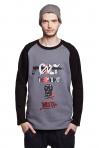 SLOGAN Young S Bio-Baumwolle Herren-sweatshirt
