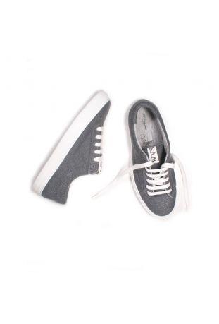 Will's LDN Biodegradable Sneakers Wegańskie Buty Damskie Grey