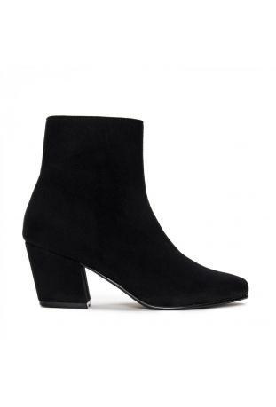 Nae Jeanne Vegane Boots Mit Blockabsatz Schwarz