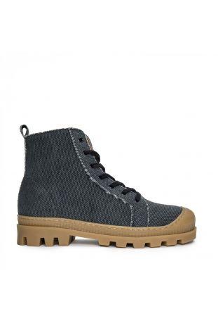 Nae Noah Vegane Sneaker Boots Schwarz