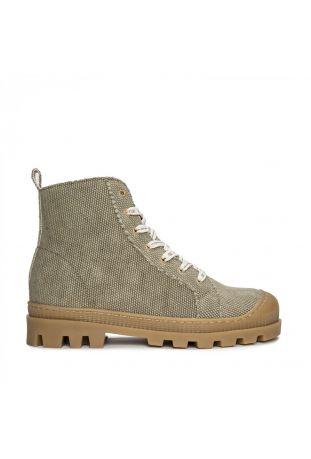 Nae Noah Green Wegańskie Sneakersy za kostkę