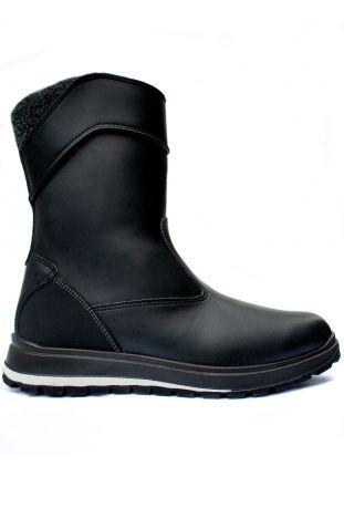 WILL'S WVSport Country Boots Black Wegańskie Wodoodporne Buty Damskie