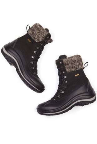 WILL'S WVSport Waterproof Snow Boots Black Śniegowce Damskie