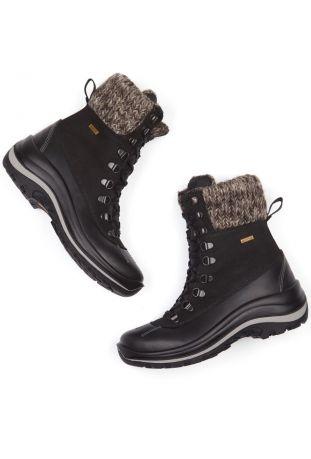 WILL'S WVSport Waterproof Snow Boots Black