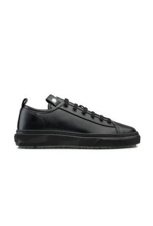Zouri ALGAE Black vegan sneakers