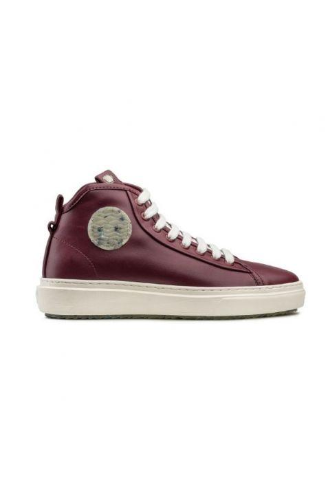 Zouri MADRACIS Bordeaux wegańskie sneakersy
