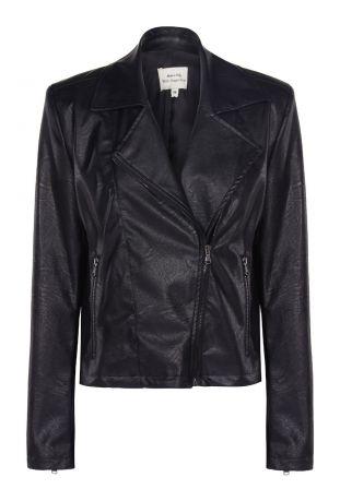 Will's Biker Jacket Black Vegan Leather