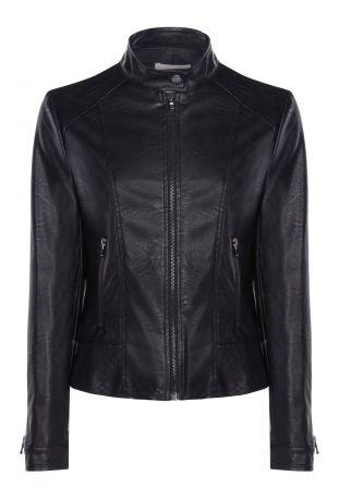 Will's Racer Jacket Black Vegan Leather