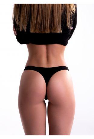 FAIRPANTS Women's panties Tongi black Fairtrade