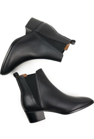 WILL'S Vegan Point Toe Chelsea Boots