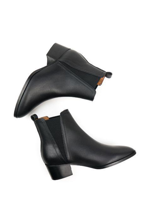 Will's Point Toe Chelsea Boots Wegańskie sztyblety damskie