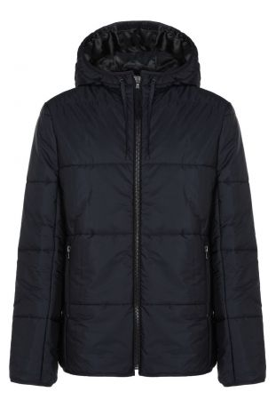Will's Recycled Vegan Shearling Puffer Black