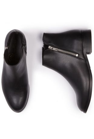 Will's Low Ankle Booties Black