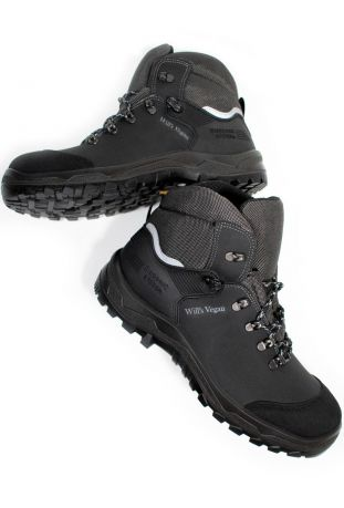 Will's WVSport Safety Work Boots S3 SRC Black Męskie Buty Ochronne
