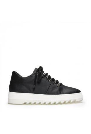 Nae Amber Black Wegańskie Sneakersy Damskie z Piñatexu