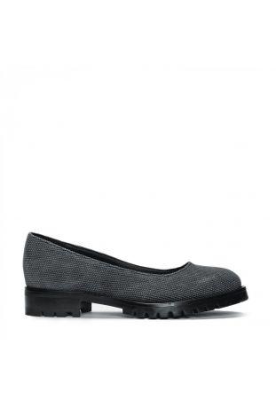 Nae Lili Cotton Black Women's Ballerina Vegan Shoes