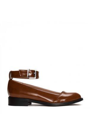 Nae Lola Micro Brown Women's Ballerina Vegan Shoes