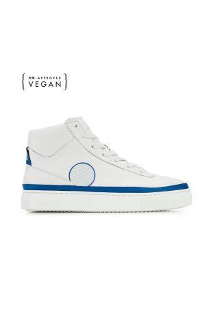 Komrads APL Ocean Blue High Top Wegańskie Sneakersy