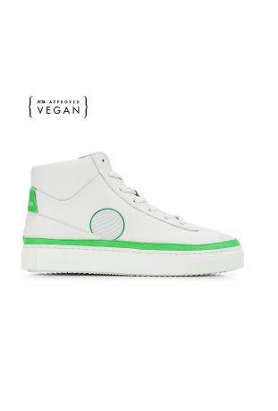 Komrads APL Apple Green High Top Vegan Sneakers