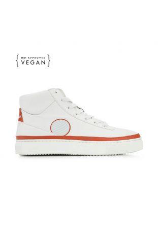 Komrads APL Earth Red High Top Vegan Sneakers