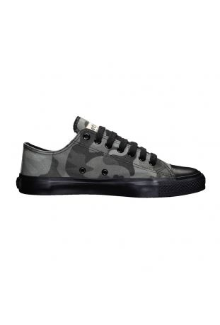 ETHLETIC BLACK CAP LO CUT TRAMPKI WEGAŃSKIE OLIVE | JET BLACK