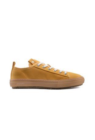 Zouri Bloom Mustard Earth vegan sneakers