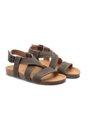 Zouri Sand Hemp vegan sandals