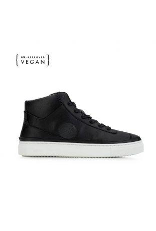 Komrads APL Monoblack High Top Vegan Sneakers