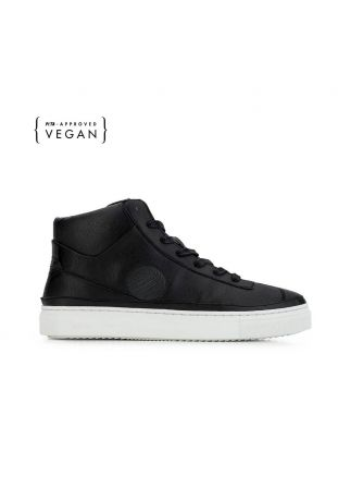 Komrads APL Monoblack High Top Wegańskie Sneakersy
