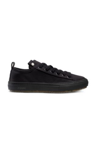 Zouri Bloom Black Vegane Sneakers