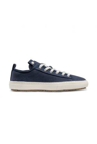 Zouri Bloom Blue sneakersy wegańskie. Bawełna organiczna.
