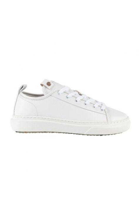 Zouri Algae White sneakersy wegańskie. Apple leather.