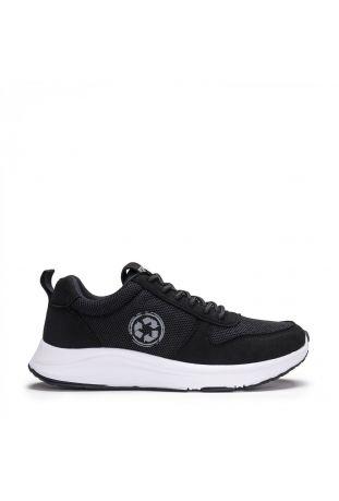 Nae Jor Re-Pet Black Vegan Sneaker