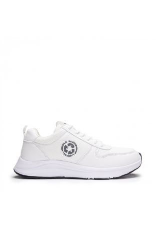 Nae Jor Re-Pet White Vegan Sneaker