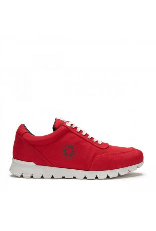 Nae Nilo Red Vegan Oxford Sneakers